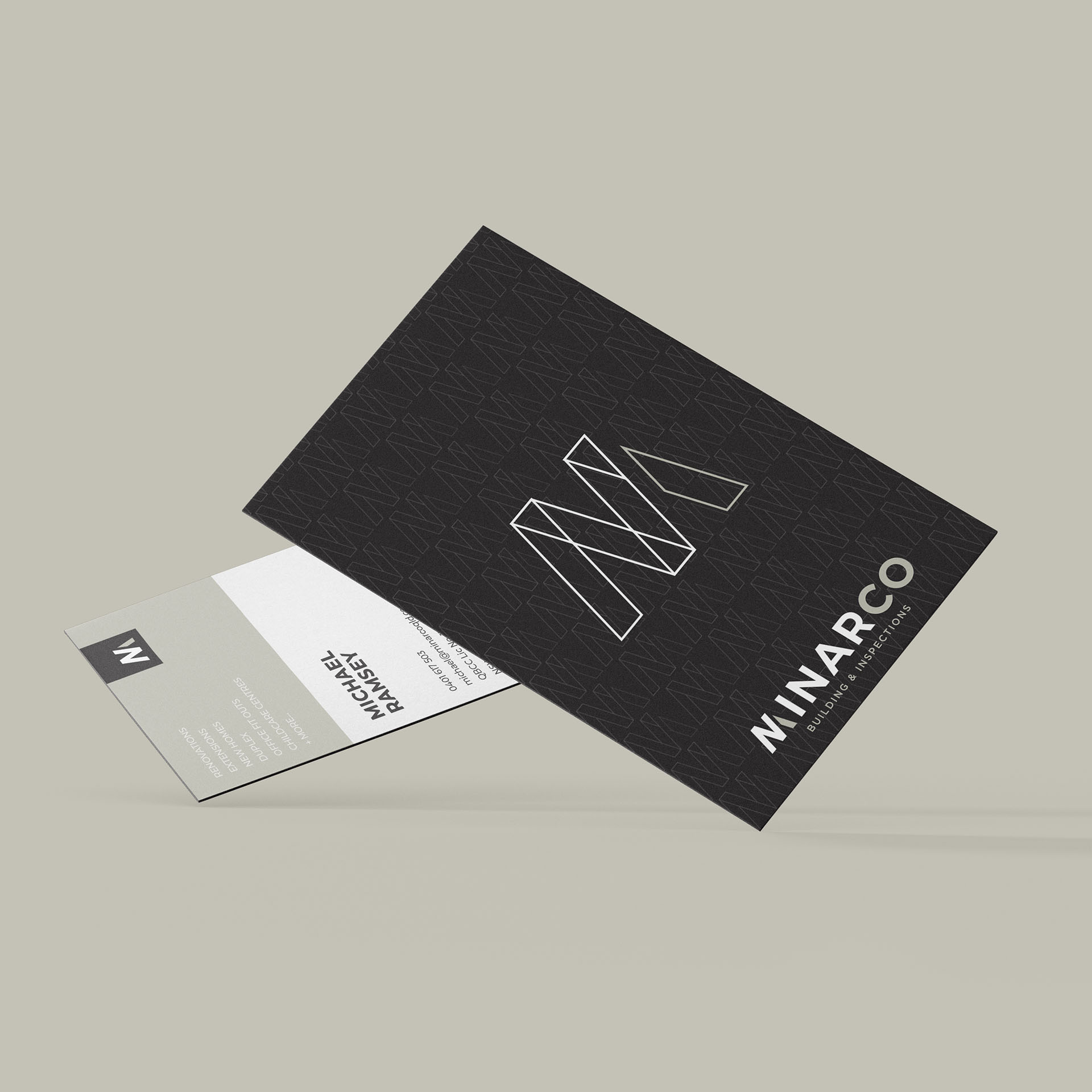 Minarco Business Cards
